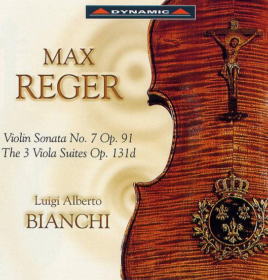 我的阿瑪悌中提琴Ⅱ Max Reger: Three Suites for Solo Viola, Op. 131d, etc. (CD)【Dynamic】