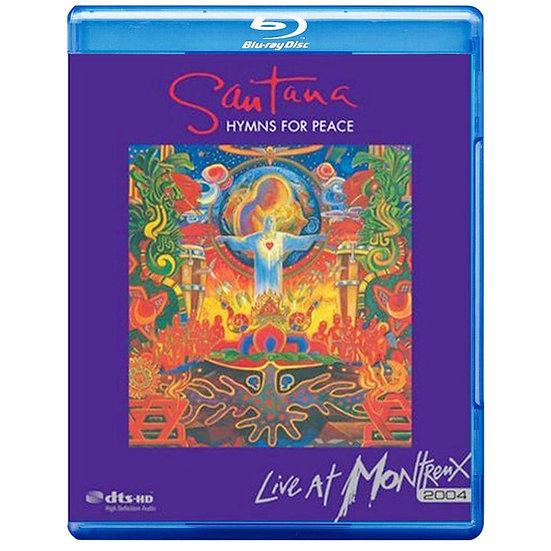 聖塔納樂團:自由讚美詩蒙特勒演唱會 (藍光Blu-ray) 【Evosound】