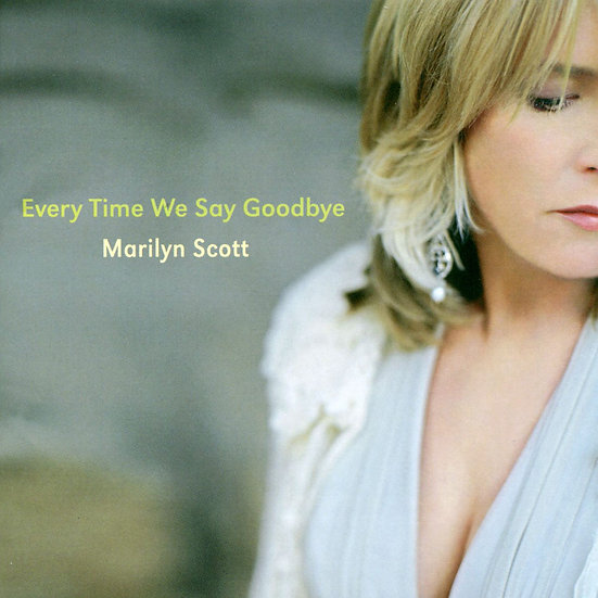 瑪莉蓮史考特:每次我們說再見 Marilyn Scott: Every Time We Say Goodbye (CD) 【Venus】