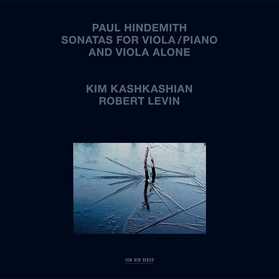 亨德密特:中提琴與鋼琴奏鳴曲|羅伯特.列文/金.卡許卡湘 (3Vinyl LP) 【ECM】