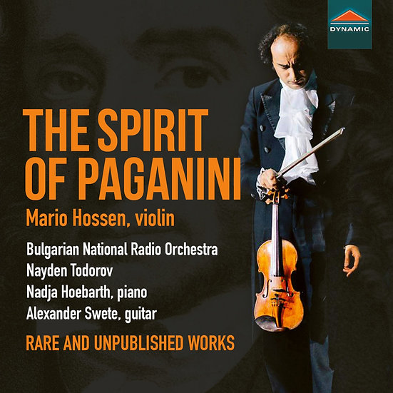 帕格尼尼之魂 The Spirit of Paganini: Rare and Unpublished Works (2CD)【Dynamic】