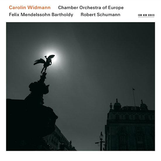 愛與崇拜~孟德爾頌與舒曼的小提琴協奏曲集 小提琴:卡洛琳.韋德曼/歐洲室內樂團 (CD) 【ECM】