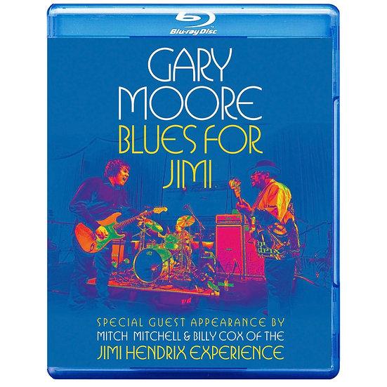 蓋瑞.莫爾:吉米漢醉克斯致敬演唱會 Gary Moore: Blues For Jimi (藍光Blu-ray) 【Evosound】