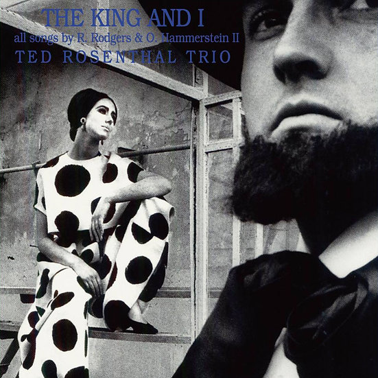 泰德.羅森修三重奏:國王與我 Ted Rosenthal Trio: The King And I (CD) 【Venus】