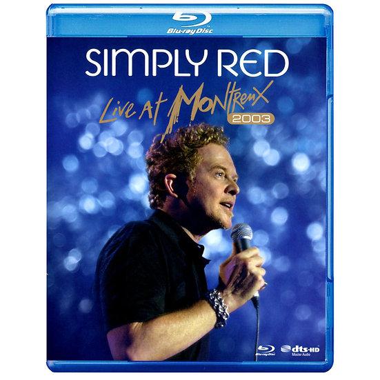 就是紅合唱團:2003蒙特勒現場演唱會 Simply Red: Live At Montreux 2003 (藍光Blu-ray) 【Evosound】