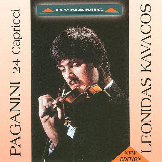 帕格尼尼:24首隨想曲 Nicolo Paganini: 24 Caprices (CD)【Dynamic】