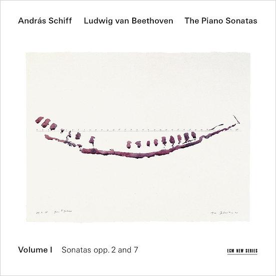 貝多芬鋼琴奏鳴曲集1|鋼琴:席夫 András Schiff / Beethoven: Piano Sonatas Vol.1 (2CD) 【ECM】