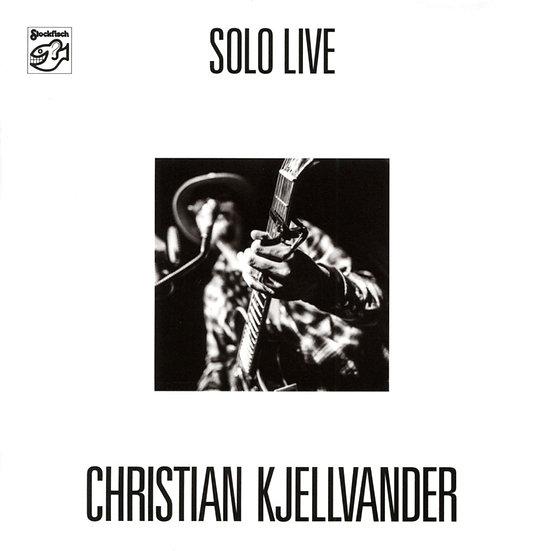 克里斯蒂安.切萬達:獨奏 Christian Kjellvander: Solo Live (CD) 【Stockfisch】