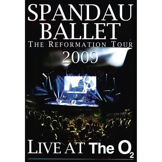 史班杜.芭蕾:O2現場演唱會 Spandau Ballet: Live At The O2 (DVD) 【Evosound】