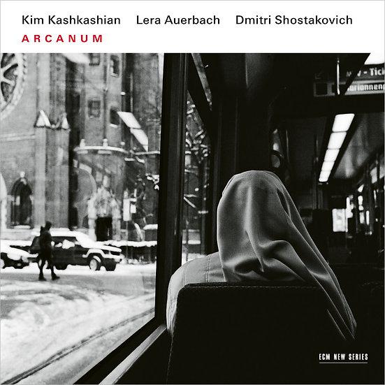 秘學|中提琴:金.卡許卡湘/鋼琴:樂娃.奧爾巴克 (CD) 【ECM】