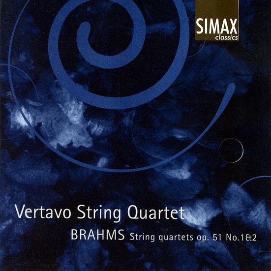 布拉姆斯:第一、二號弦樂四重奏|維塔沃弦樂四重奏 (CD) 【Simax Classics】