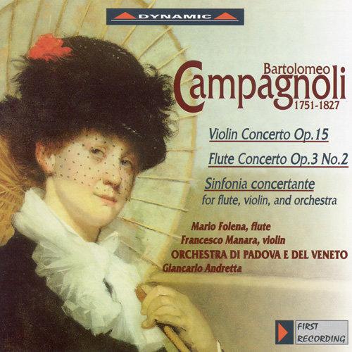 康帕諾利:小提琴協奏曲、長笛協奏曲、交響協奏曲 (CD)【Dynamic】