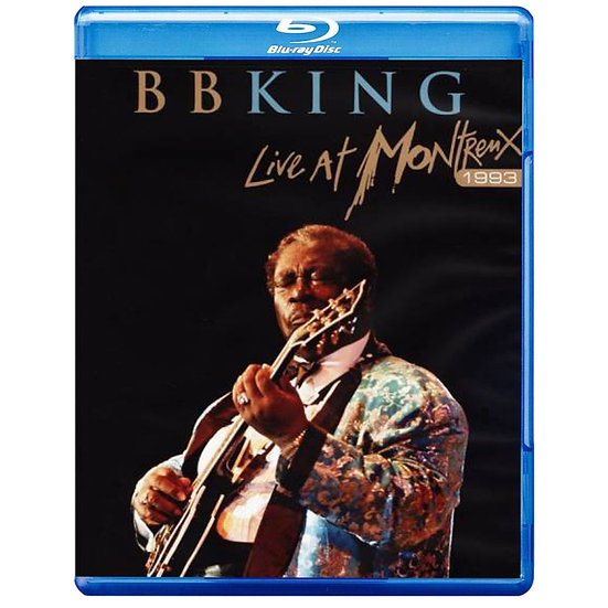 B.B. King:蒙特勒現場演唱會 B.B. King: Live at Montreux 1993 (藍光Blu-ray) 【Evosound】