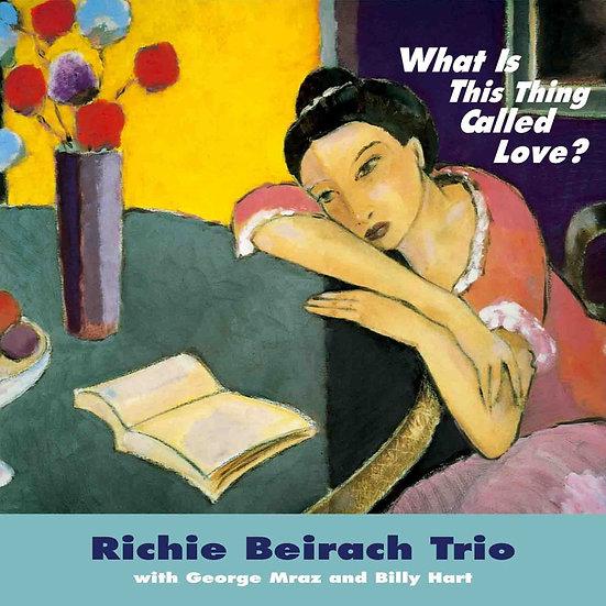 李奇.貝拉齊三重奏:愛是什麼東西? (CD)【Venus】