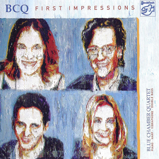 藍教堂四重奏:第一印象 Blue Chamber Quartet: First Impressions (SACD) 【Stockfisch】