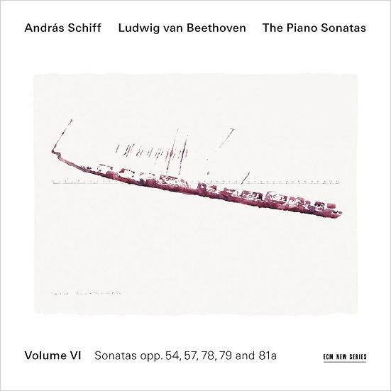 貝多芬鋼琴奏鳴曲集6 鋼琴:席夫 András Schiff / Beethoven: Piano Sonatas Vol.6 (CD) 【ECM】