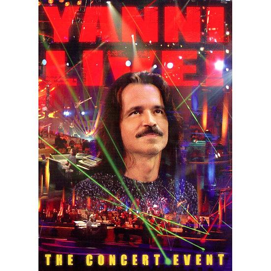 雅尼:超體感現場 Yanni: Live - The Concert Event (DVD) 【Evosound】