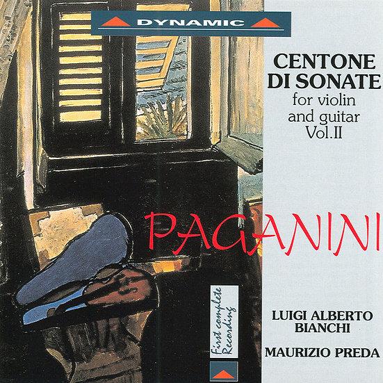 帕格尼尼:小提琴與吉他奏鳴曲4  (CD)【Dynamic】