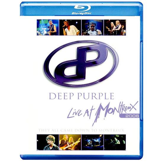 深紫色樂團:他們都到蒙特勒 演唱會 (藍光Blu-ray) 【Evosound】