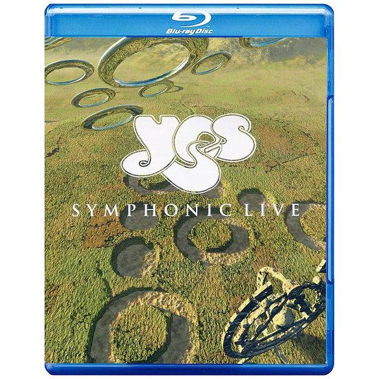 YES合唱團:交響樂現場 Yes: Symphonic Live (藍光Blu-ray) 【Evosound】