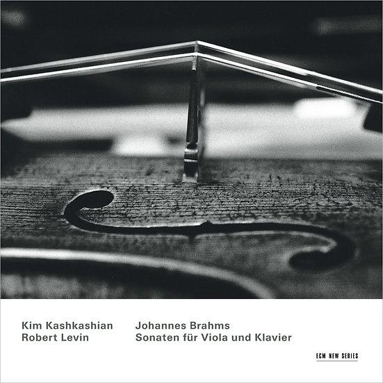 布拉姆斯:中提琴奏鳴曲 中提琴:金.卡許卡湘 (CD) 【ECM】