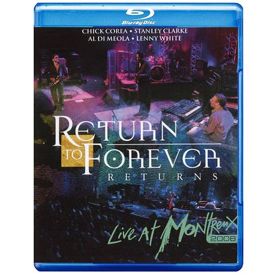 榮光再現:榮光再現,蒙特勒現場演唱會 Return To Forever: Returns @ Montreux (藍光Blu-ray) 【Evosound】