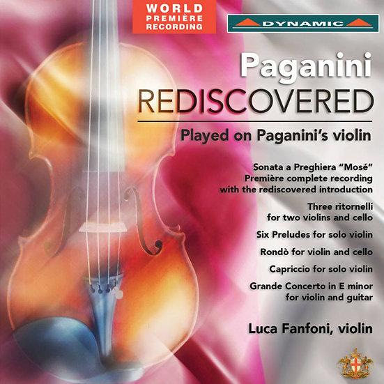 帕格尼尼的祈禱 Paganini Rediscovered (CD)【Dynamic】