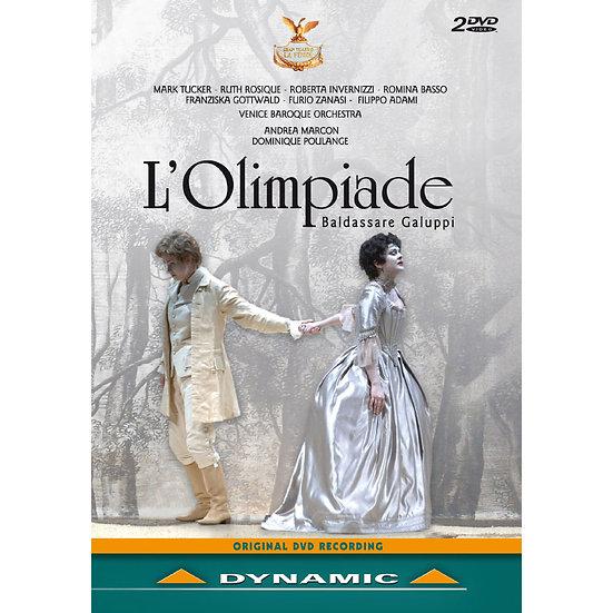 加路比:歌劇《奧林匹亞》 Baldassare Galuppi: L'Olimpiade (2DVD)【Dynamic】
