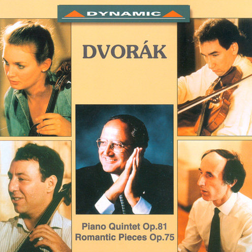 德弗乍克:鋼琴五重奏 Dvorak: Piano Quintet Op.81 / Romantic Pieces Op.75 (CD)【Dynamic】