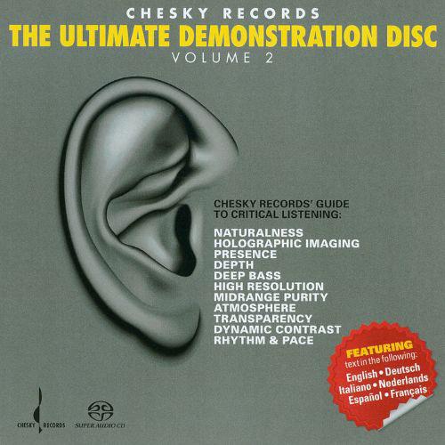 CHESKY兩隻耳朵極品試音碟2 The Ultimate Demonstration Disc Volume 2 (SACD) 【Chesky】