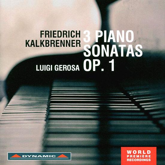 卡克布雷納:三首鋼琴奏鳴曲/鋼琴:葛羅薩 (CD)【Dynamic】