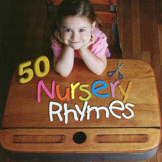 50首給孩子的童謠 V.A.: 50 Nursery Rhymes (2CD) 【Evosound】