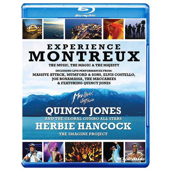 昆西.瓊斯與赫比.漢考克:2010蒙特勒現場演唱會-體驗3D蒙特勒 (3D藍光Blu-ray+藍光Blu-ray) 【Evosound】