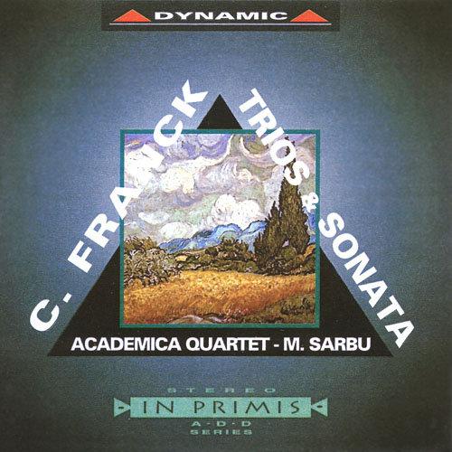 法蘭克:鋼琴三重奏 Cesar Franck: Trios & Sonata (2CD)【Dynamic】