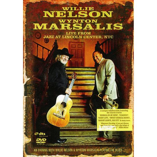 威利.尼爾森&溫頓.馬薩爾斯:紐約林肯中心演唱會 (DVD) 【Evosound】