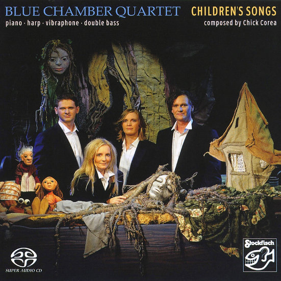 藍色室內樂四重奏:兒童之歌 Blue Chamber Quartet: Children's Songs (SACD) 【Stockfisch】