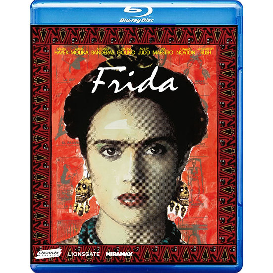 揮灑烈愛 Frida (藍光Blu-ray)