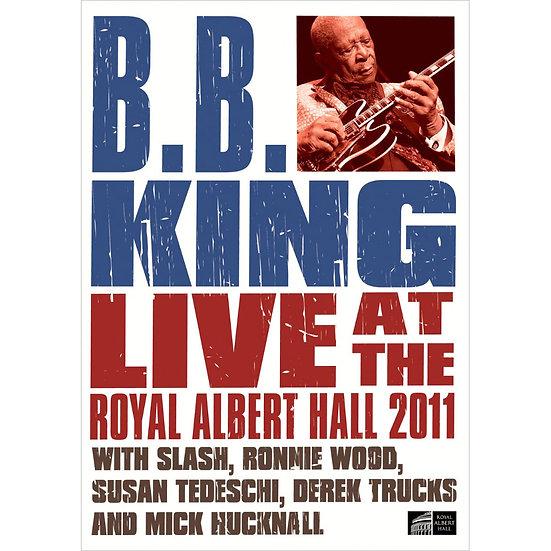 B.B. King:皇家亞伯特廳現場 B.B. King: Live At The Royal Albert Hall 2011 (DVD) 【Evosound