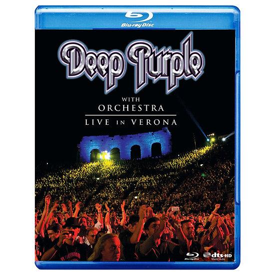 深紫色樂團:維洛納圓形劇場演唱會 Deep Purple & Orchestra: Live In Verona (藍光Blu-ray) 【Evosound】