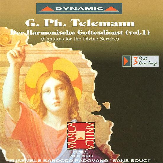 泰雷曼:和諧的禮拜式 第一集 (CD)【Dynamic】