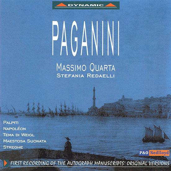 名琴科諾男爵 - 帕格尼尼:拿破崙奏鳴曲、威格主題變奏曲 Paganini: I Palpiti, Op. 13 (CD)【Dynamic】