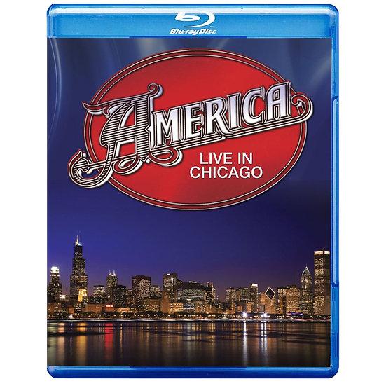 亞美利加合唱團:芝加哥現場演唱會實錄 America: Live In Chicago (藍光blu-ray) 【Evosound】