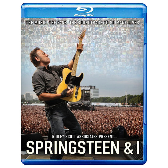布魯斯.史普林斯汀:史普林斯汀與我 Bruce Springsteen: Springsteen & I (藍光Blu-ray) 【Evosound】