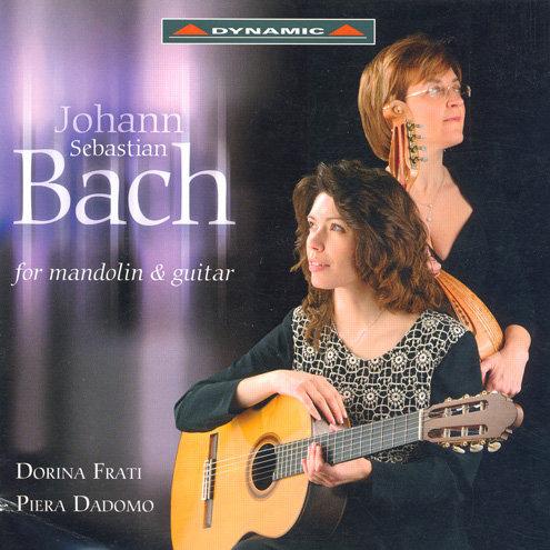巴哈:曼陀林與吉他作品集 J.S. Bach: Mandolin and Guitar Works (CD)【Dynamic】