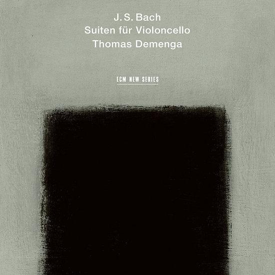 巴哈:無伴奏大提琴組曲|大提琴:托馬斯.德門加 (2CD) 【ECM】
