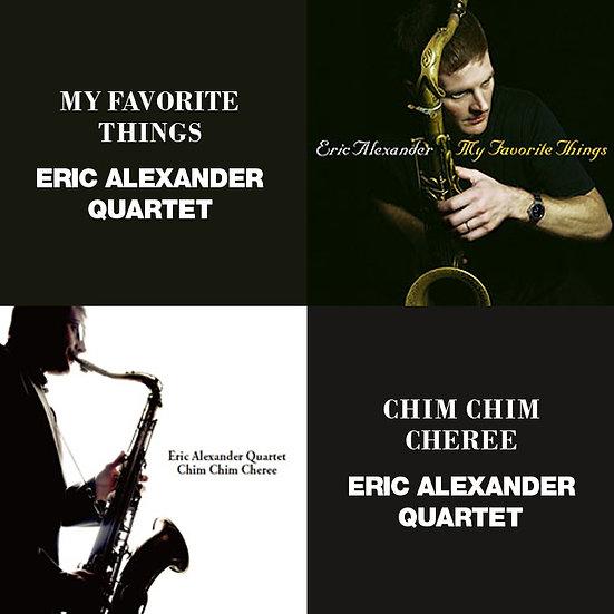 艾瑞克.亞歷山大四重奏:我最喜愛的事物+歡樂滿人間 (限量2CD豪華決定盤)【Venus】