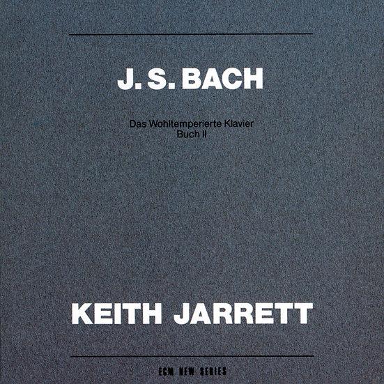 巴哈 : 鋼琴平均律第二冊 大鍵琴:奇斯.傑瑞特 (2CD) 【ECM】
