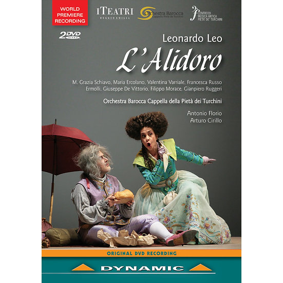 里歐:歌劇《歐萊雅艾里多羅》 Leonardo Leo: L'Alidoro (2DVD)【Dynamic】