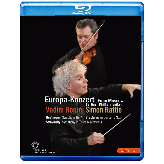 2008歐洲音樂會 柏林愛樂重返莫斯科 (藍光Blu-ray)【EuroArts】