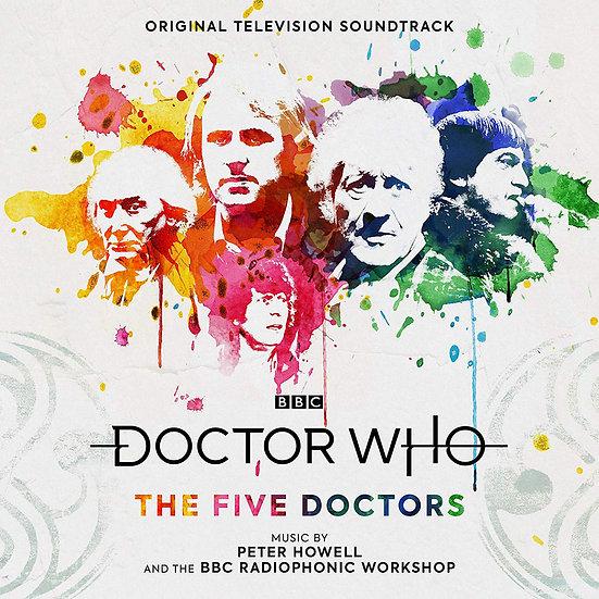超時空奇俠 20週年特輯:五任博士 電視原聲帶 Doctor Who – The Five Doctors (2Vinyl LP) 【Silva Screen】